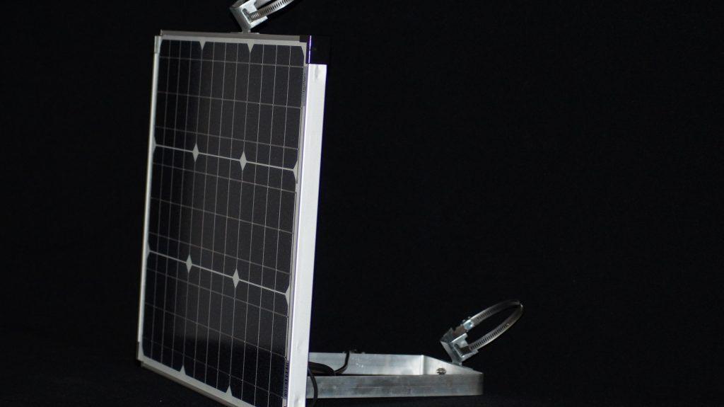 Stromversorgung Solarpanel Akku-aufladen